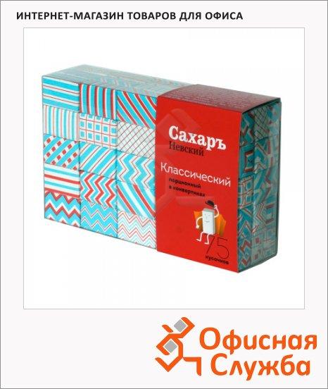Сахар Невский Полосы порционный, кусковой, 75 х 5.6г