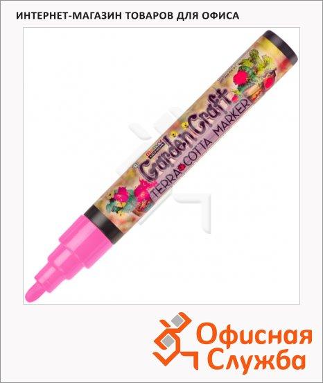 Маркер перманентный Marvy 310 розовый, 2-4мм, круглый наконечник, для дерева и пористых поверхностей