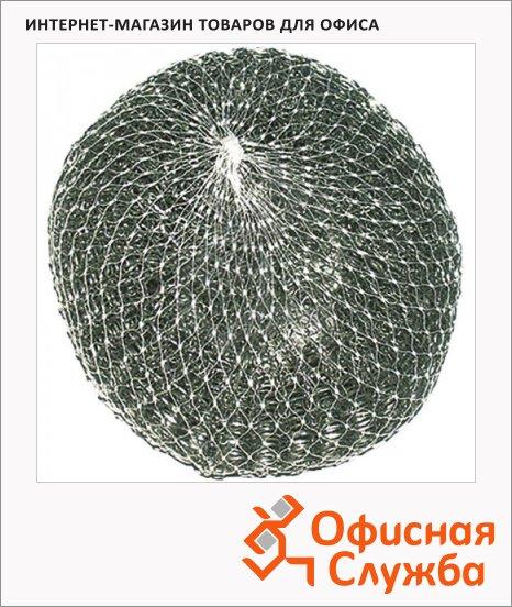 фото: Губка для мытья посуды Paclan Practi металлическая 9х3см