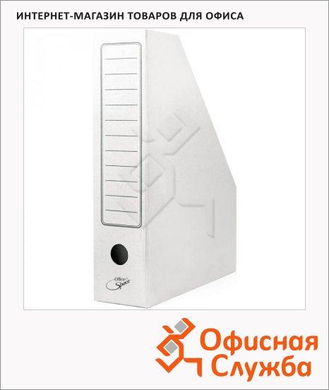 Накопитель вертикальный для бумаг Office Space А4, 75мм, белый