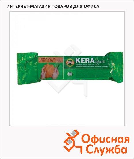 фото: Глина для лепки Koh-I-Noor Keraplast 300г терракотовая, вакуумированная