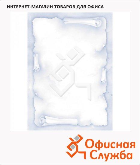 фото: Дизайн-бумага Decadry Голубой свиток А4, 90г/м2, 20 листов