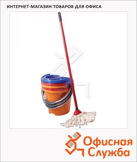 Набор для уборки Svip 12л, ведро с отжимом, с шваброй, SV3076