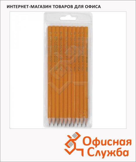 фото: Набор чернографитных карандашей Koh-I-Noor 1696 2B-2H 10шт, 1696010042TE