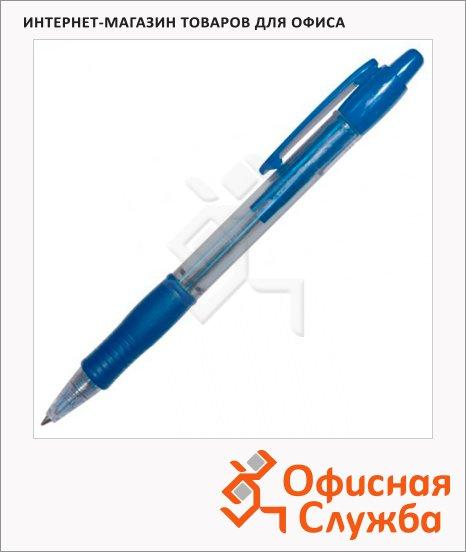 фото: Ручка шариковая автоматическая Pilot Super Grip BPGP-10R-M синяя 1мм