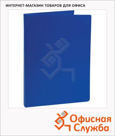 Папка на 2-х кольцах А4 Office Space синяя, 27мм