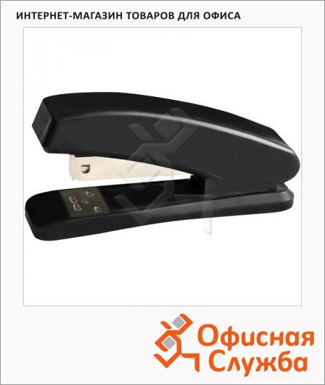 Степлер Office Space №24/6, до 20 листов, черный, пластиковый корпус