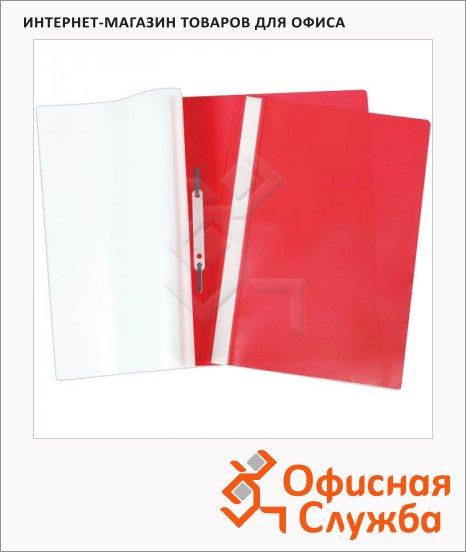 Скоросшиватель пластиковый Office Space Fms красный, А4, Fms16-4_717