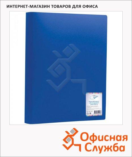 фото: Папка файловая Office Space синяя A4, на 80 файлов, F80L2_298