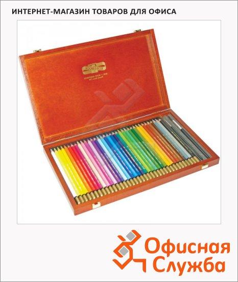 Набор акварельных карандашей Koh-I-Noor Mondeluz 36 цветов, 3795