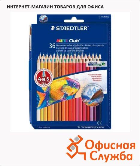 Набор акварельных карандашей Staedtler Noris Club 36 цветов, 14410ND36