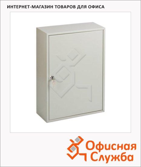 Шкафчик для ключей Office Force на 150 ключей, серый, 550х380х140мм