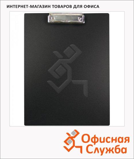 Клипборд без крышки Office Space черный, А4, F15B2_328