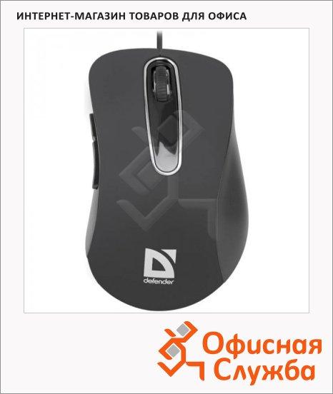 фото: Мышь проводная оптическая USB Defender Datum MM-070 черная