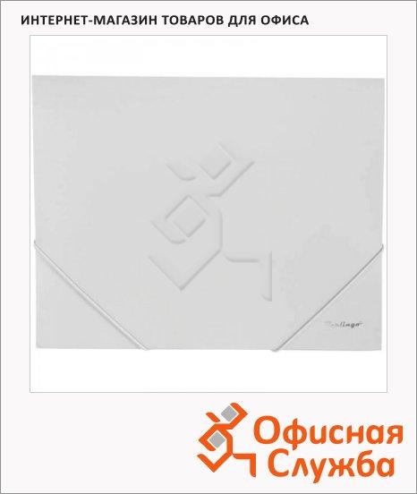 Пластиковая папка на резинке Berlingo Standard серая, А4