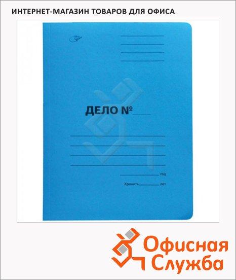 Скоросшиватель картонный Office Space Дело синий, А4, A-SD30B_3174