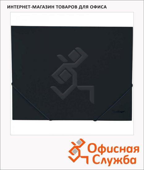 фото: Пластиковая папка на резинке Berlingo Standard черная А4