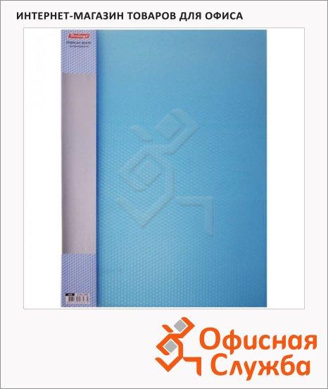 Папка файловая Berlingo Diamond синяя, А4, на 30 файлов, AVp_30002