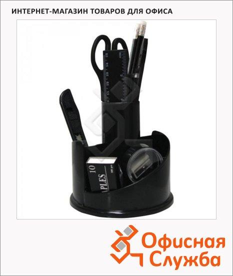 фото: Органайзер настольный Officespace Русские горки 12 предметов черный