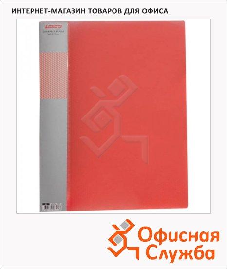 Папка пластиковая с зажимом Berlingo Diamond красная, А4, 17мм, ACp_01003
