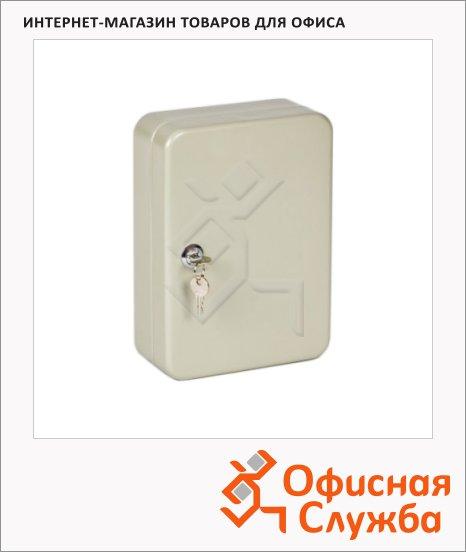 фото: Шкафчик для ключей Office Force на 60 ключей серый, 250х180х80мм