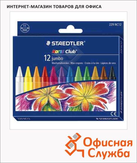 Набор восковых карандашей Staedtler NorisClub 229 12 цветов, круглые