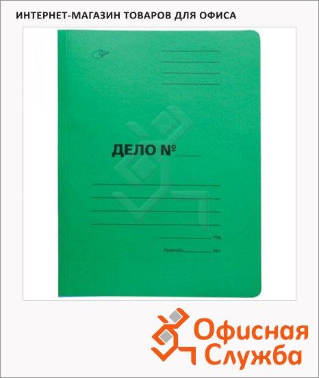 Скоросшиватель картонный Office Space Дело зеленый, А4, A-SD30G_3172