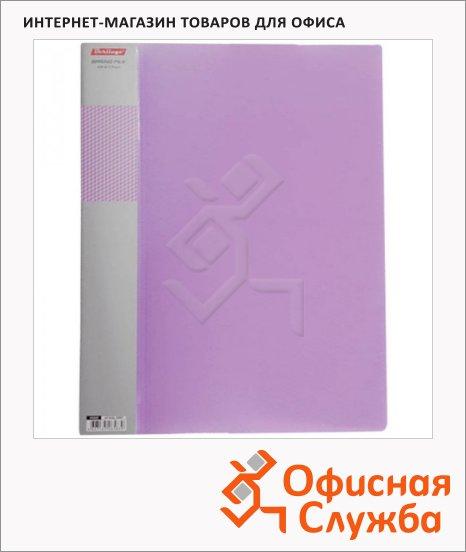 Скоросшиватель пружинный Berlingo Diamond фиолетовый, А4