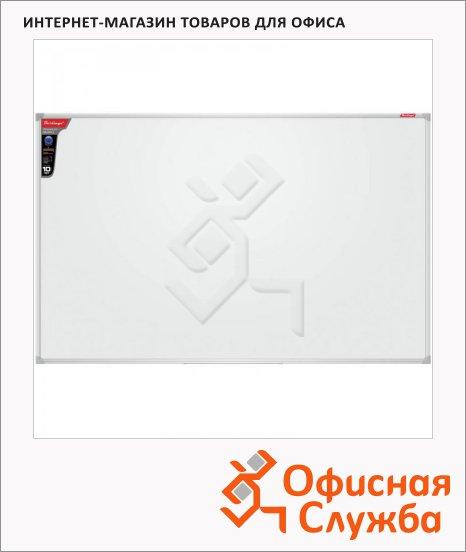фото: Доска магнитная маркерная Berlingo Premium 90х120см белая, лаковая, алюминиевая рама, полочка