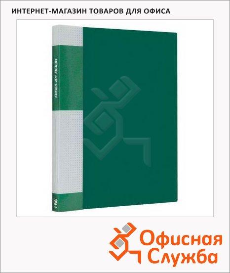 Папка файловая Berlingo Standard А4, на 10 файлов, зеленая