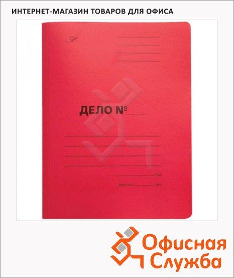 фото: Скоросшиватель картонный Office Space Дело красный А4, A-SD30R_3173