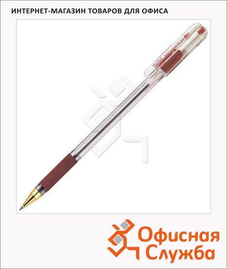 Ручка шариковая Munhwa MC Gold BMC-03 красная, 0.3мм