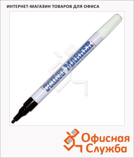 Маркер-краска Munhwa Slim Size черный, 2 мм, пулевидный наконечник, нитро-основа