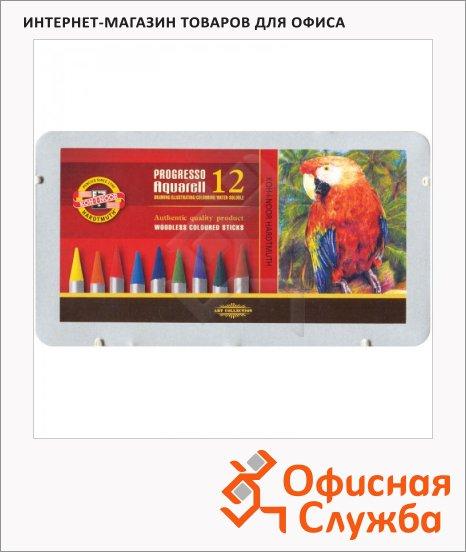 Набор акварельных карандашей Koh-I-Noor Progresso Aquarell 12 цветов