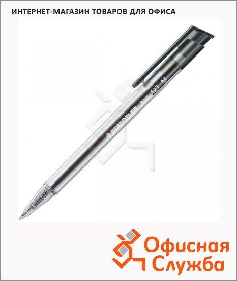 Ручка шариковая автоматическая Staedtler Ball M черная, 0.5мм