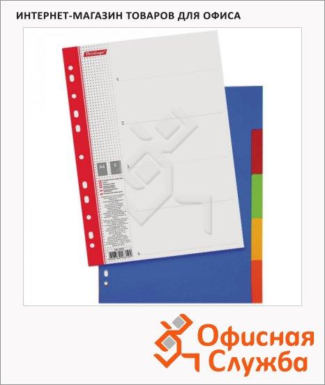 фото: Цветовой разделитель листов 5 разделов А4, ARp_04030
