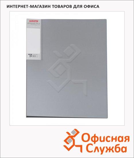 Скоросшиватель пружинный Berlingo Metallic серебристый, А4