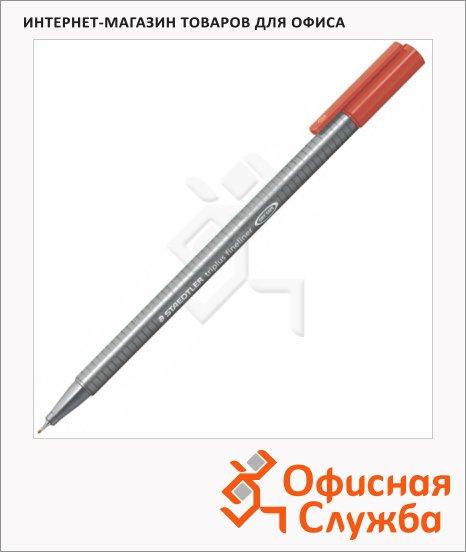 Ручка капиллярная Staedtler Triplus Fineliner 334, 0,3мм, малиновый