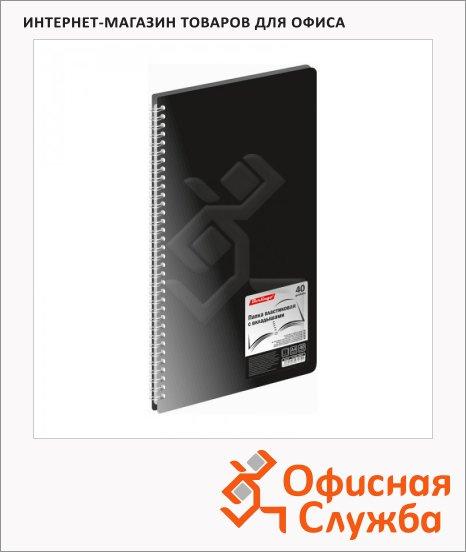 Папка файловая Berlingo Standard черная, AVg_40001