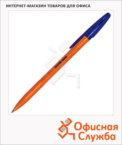 Ручка шариковая Erich Krause R-301 Orange синяя, 0.7мм, 22187
