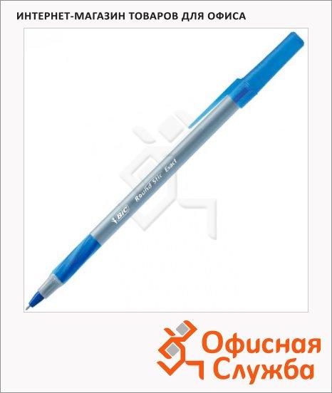 Ручка шариковая Bic Round Stic Exact синяя, 0.35мм