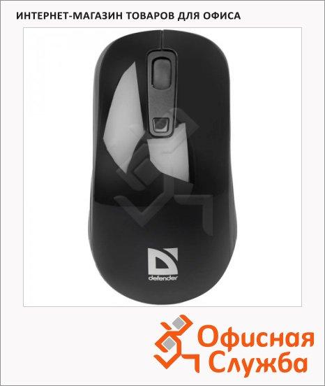фото: Мышь беспроводная оптическая USB Defender Datum MB-065 1000/1600dpi, черная