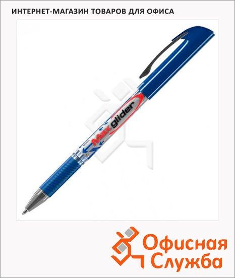Ручка шариковая Erich Krause Ultra Glide plus Max Glider синяя, 1мм, 33574