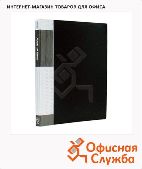 фото: Папка файловая Berlingo Standard черная A4, на 60 файлов, MT2444