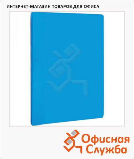фото: Папка файловая Line синяя А4, на 30 файлов, AVn_30402