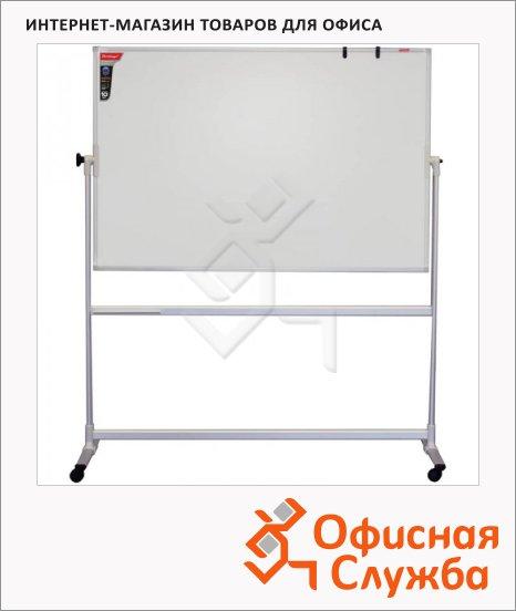 фото: Доска магнитная маркерная Berlingo Premium 100х150см белая, лаковая, алюминиевая рама, на роликах