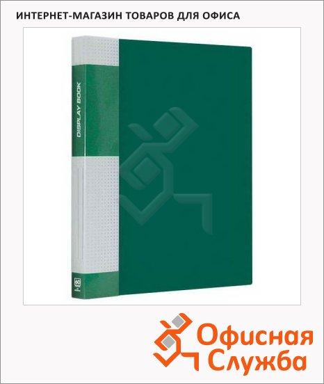 Папка файловая Berlingo Standard зеленая, A4, на 60 файлов, MT2440