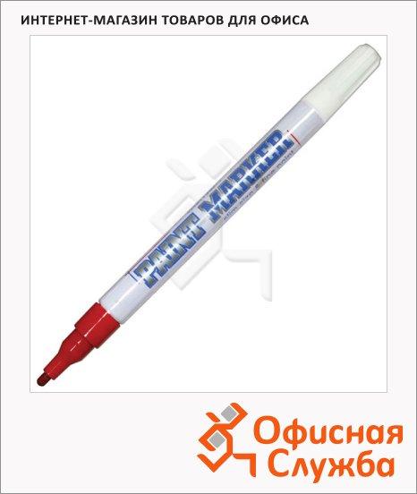Маркер-краска Munhwa Slim Size красный, 2 мм, пулевидный наконечник, нитро-основа