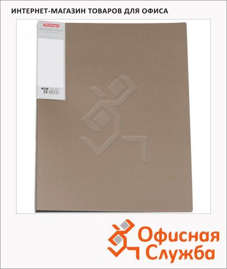 Скоросшиватель пружинный Berlingo Metallic золотистый, А4, AHn_00714