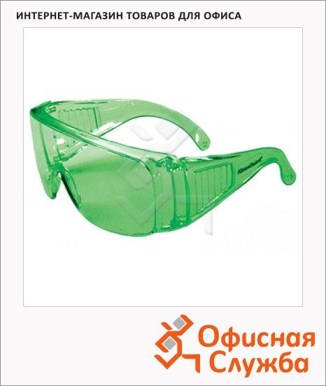 фото: Очки защитные Jackson Safety V10 Unispec зеленые IRUV 3.0 LENS